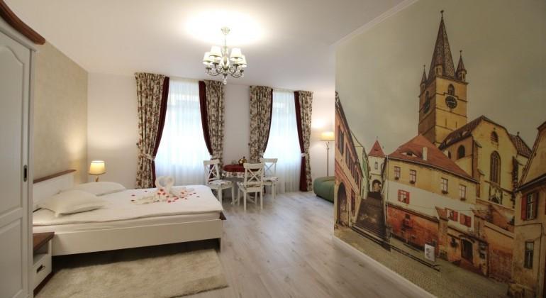 Lakosztály Casa Hermanni Sibiu Sibiu